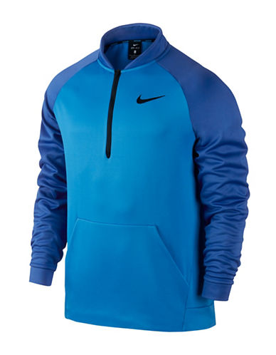 Nike Therma Training Top-BLUE-Large 88592033_BLUE_Large