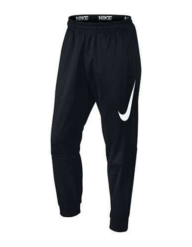 Nike Therma Training Pants-BLACK/WHITE-XX-Large 88501616_BLACK/WHITE_XX-Large