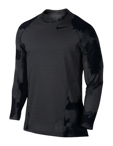 Nike Pro Hyperwarm Graphic T-Shirt-ANTHRACITE-Medium 88798098_ANTHRACITE_Medium