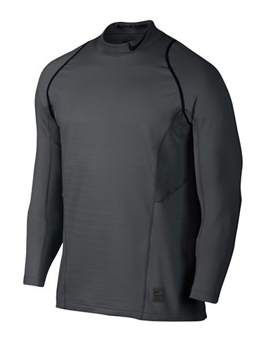 Nike Pro Hyperwarm Top-GREY-Large 88925539_GREY_Large