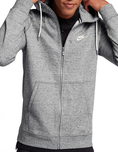 Nike Legacy Cotton Hooded Jacket-GREY-XX-Large 89690587_GREY_XX-Large