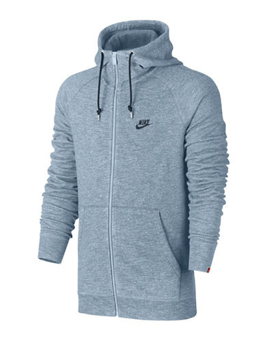 Nike Sportswear Legacy Cotton Hoodie-BLUE-Small 89709971_BLUE_Small