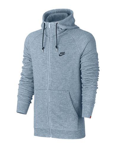 Nike Sportswear Legacy Cotton Hoodie-BLUE-Large 89709973_BLUE_Large