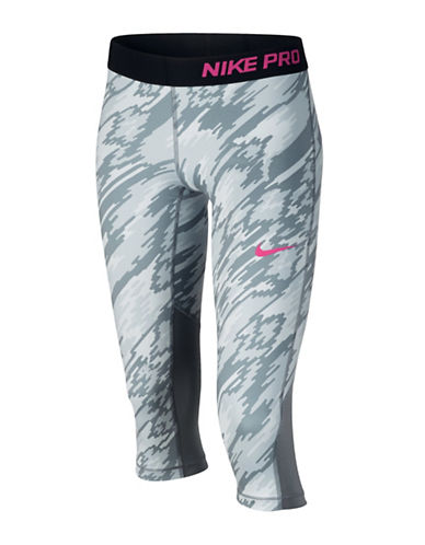 Nike Dri-FIT Pro Cool Capris-GREY-Large 88497286_GREY_Large