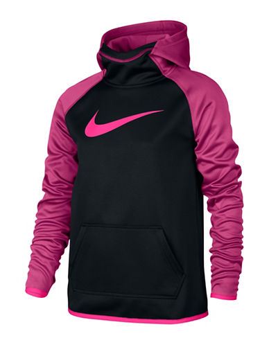 Nike All Time Thermal Hoodie-BLACK/PINK-X-Large 88497259_BLACK/PINK_X-Large