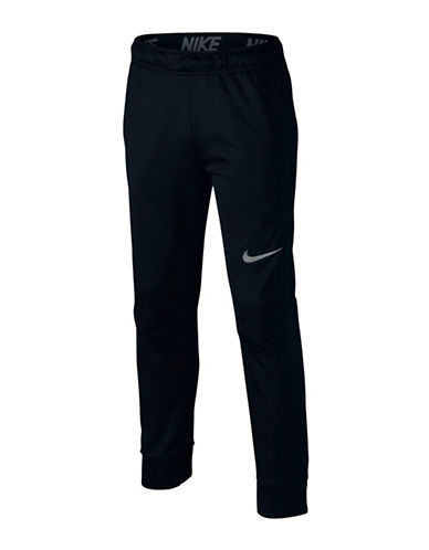 Nike Tapered Thermal Pants-BLACK-Medium
