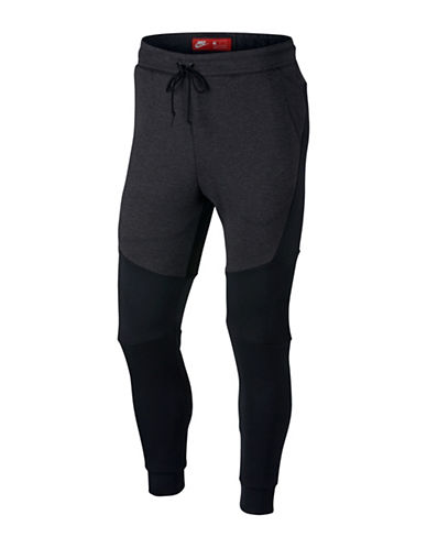 Nike Fleece Jogger Pants-BLACK-X-Large