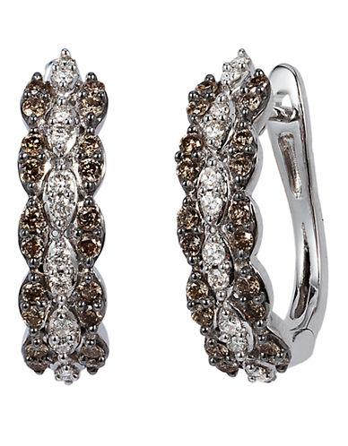 Le Vian Chocolate Diamonds  14K White Gold Diamond Earring-WHITE GOLD-One Size