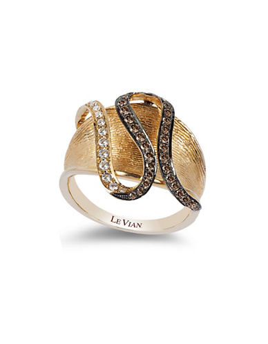 Le Vian Swirl Collection 14K Yellow Gold Diamond Ring-YELLOW GOLD-7