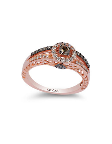 Le Vian Center Stone Collection 14K Rose Gold Diamond Ring-ROSE GOLD-7