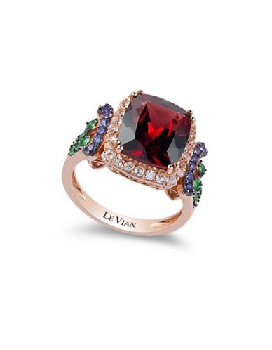 Le Vian Raspberry Rhodolite 14K Rose Gold Garnet Ring-ROSE GOLD-7