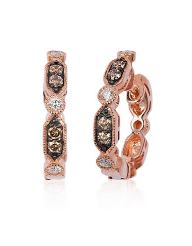 Le Vian Hoop Collection 14K Rose Gold Diamond Ring-ROSE GOLD-One Size