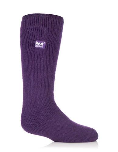 Heat Holders Heat Holders Sock-PURPLE-Large