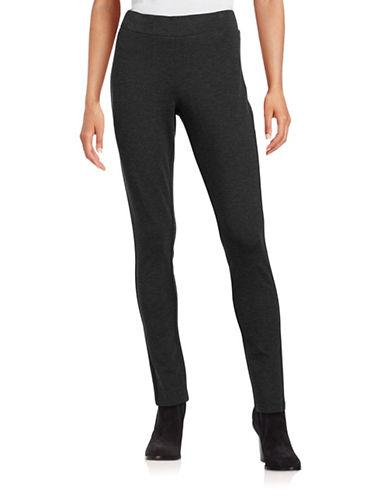 Nydj Slimming Fit Basic Leggings-GREY-12