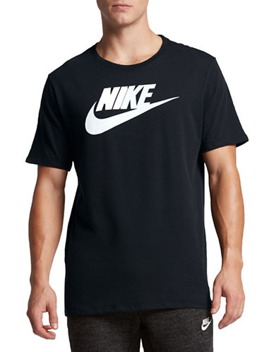 Nike Futura Icon T-Shirt-BLACK-Medium