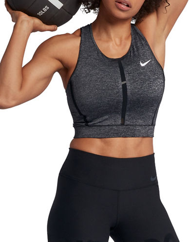 Nike Pro Hyper Cool Tank Top-CHARCOAL-Small