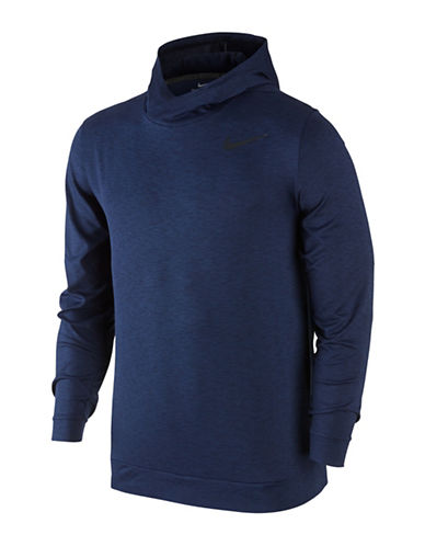 Nike Breathe Training Hoodie-BLUE-Small