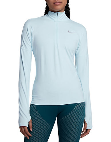 Nike Dry Element Running Top-BLUE-Large 89687190_BLUE_Large