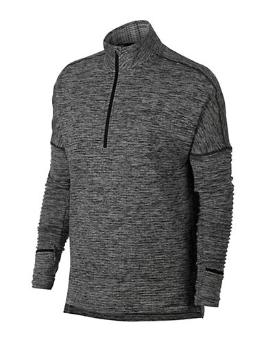 Nike Therma Sphere Element Running Top-BLACK-Medium