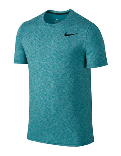 Nike Breathe Training Top-BLUE-Medium