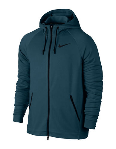 Nike Dry Training Hoodie-BLUE-X-Large 89576157_BLUE_X-Large
