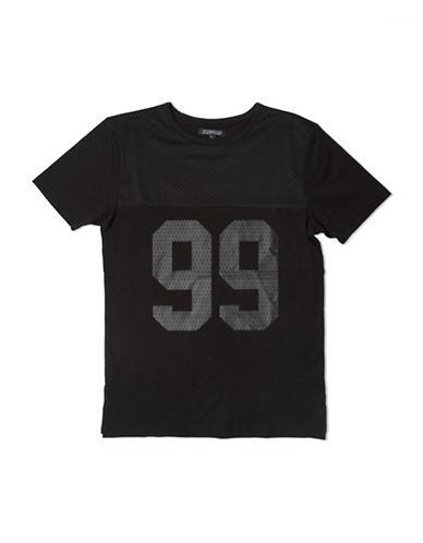 Elwood Graphic Football T-Shirt-BLACK-Large 88802539_BLACK_Large