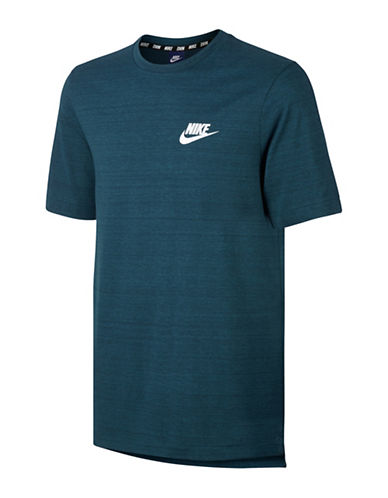 Nike Sportswear Advance 15 Top-BLUE-X-Large