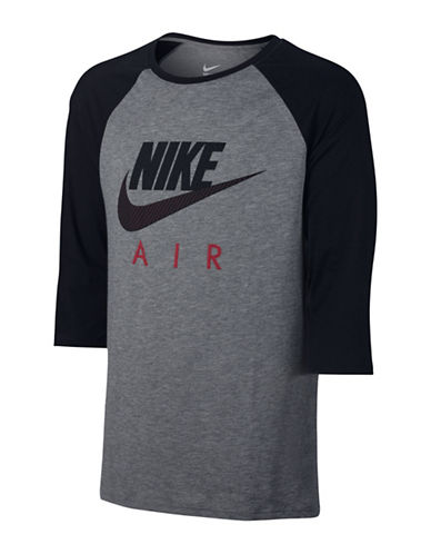 Nike Sportswear Raglan Sleeve Top-CARBON-Medium 88501708_CARBON_Medium