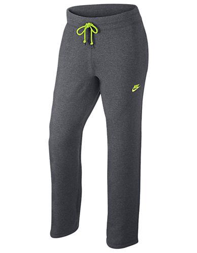 Nike Intentional Open Hem Fleece Pants-CARBON-X-Large 87688418_CARBON_X-Large