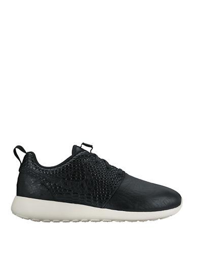 Nike Womens Roshe One LX Sneakers-BLACK-8
