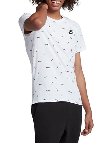 Nike Sportswear Cotton T-Shirt-WHITE-X-Large 90029974_WHITE_X-Large
