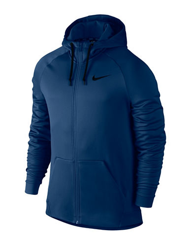 Nike Therma Training Hoodie-BLUE-X-Large 89692725_BLUE_X-Large