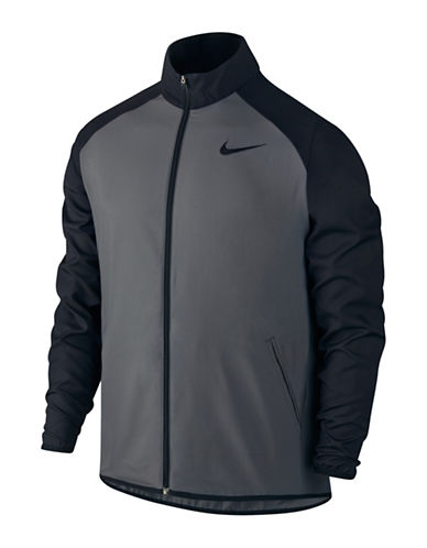 Nike Dry Team Training Jacket-DARK GREY-Large 88501604_DARK GREY_Large