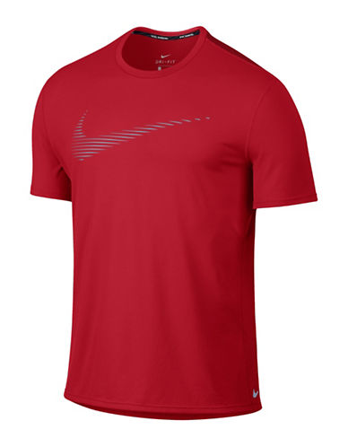 Nike Dry Contour Running T-Shirt-UNIVERSITY RED-X-Large 88595417_UNIVERSITY RED_X-Large