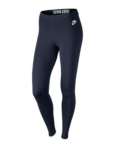Nike Leg A See Leggings-BLACK-X-Small