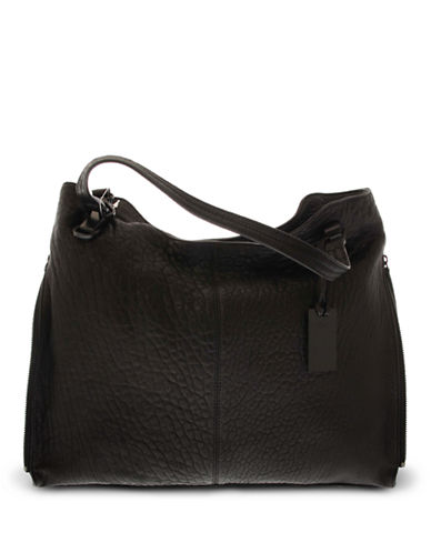 Vince Camuto Perpetual Classic Fashion Tote-BLACK-One Size