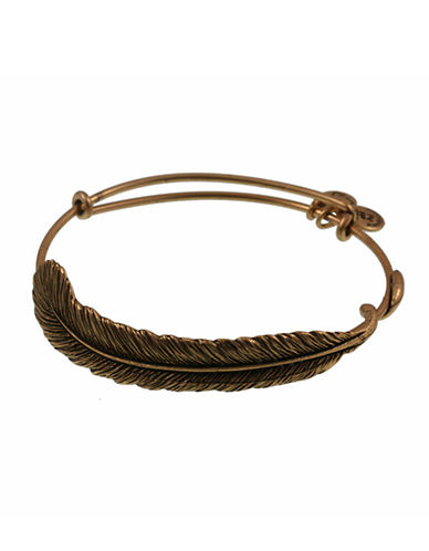 Alex And Ani Plume  Wrap-BRONZE-One Size