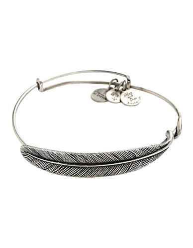 Alex And Ani Plume  Wrap-SILVER-One Size