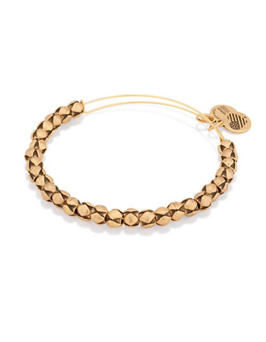 Alex And Ani Traveler Gold Flash Beaded Bangle Bracelet-GOLD-One Size 88644181_GOLD_One Size