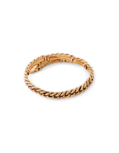 Alex And Ani Eve Metal Wrap Bracelet-GOLD-One Size