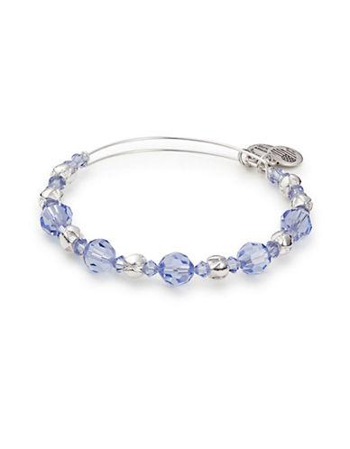 Alex And Ani Swarovski Crystal Bangle-BLUE-One Size