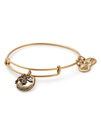 Alex And Ani Mermaid Charm Bracelet-GOLD-One Size