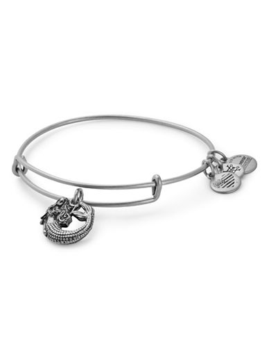 Alex And Ani Mermaid Silverplated Bracelet-SILVER-One Size