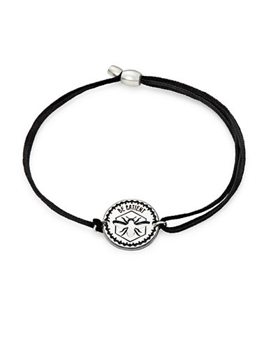 Alex And Ani Sterling Silver Be Patient Kindred Cord Bracelet-SILVER-One Size