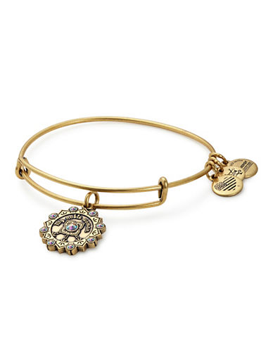 Alex And Ani Maid of Honor Charm Bracelet-GOLD-One Size