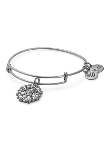 Alex And Ani Maid of Honor Adjustable Bracelet-SILVER-One Size