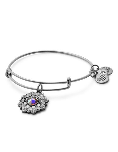 Alex And Ani Mother of the Bride Adjustable Bracelet-SILVER-One Size