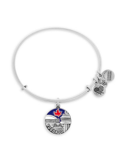 Alex And Ani Toronto Silver-plated Bracelet-SILVER-One Size