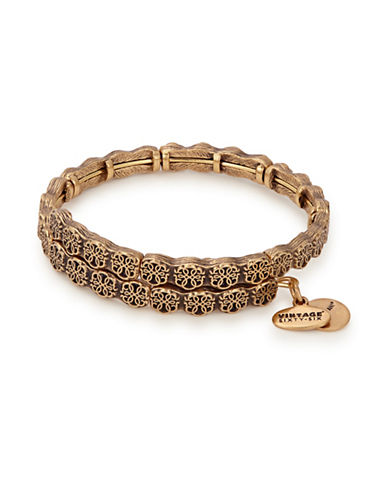 Alex And Ani Path of Life Wrap Bracelet-GOLD-One Size