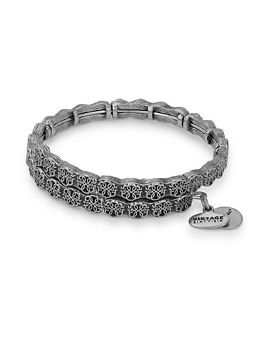 Alex And Ani Path of Life Wrap Bracelet-SILVER-One Size